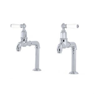 4332 Perrin & Rowe Mayan Deck Mounted Taps with Lever Handles